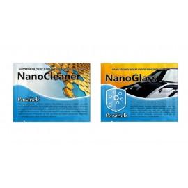 Vlhčený obrúsok - NanoGlass a NanoCleaner