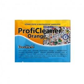 Vlhčený obrúsok - ProfiCleaner Orange